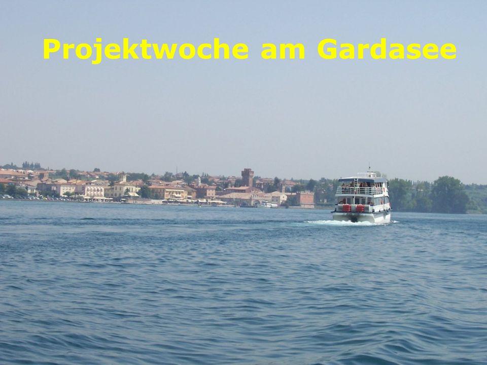 Projektwoche am Gardasee