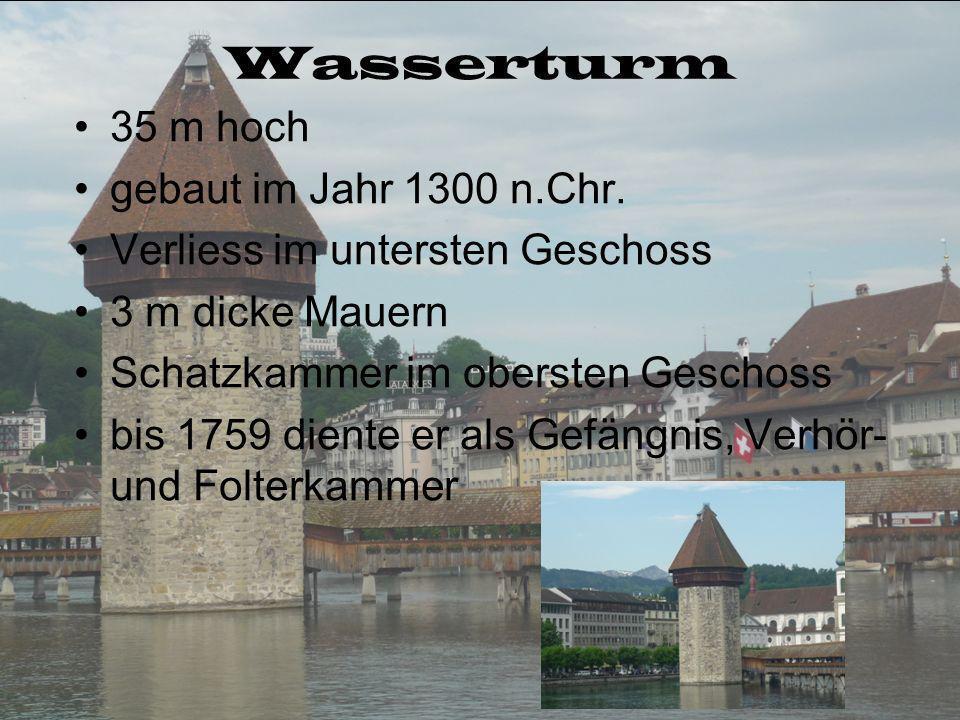 Wasserturm 35 m hoch gebaut im Jahr 1300 n.Chr.