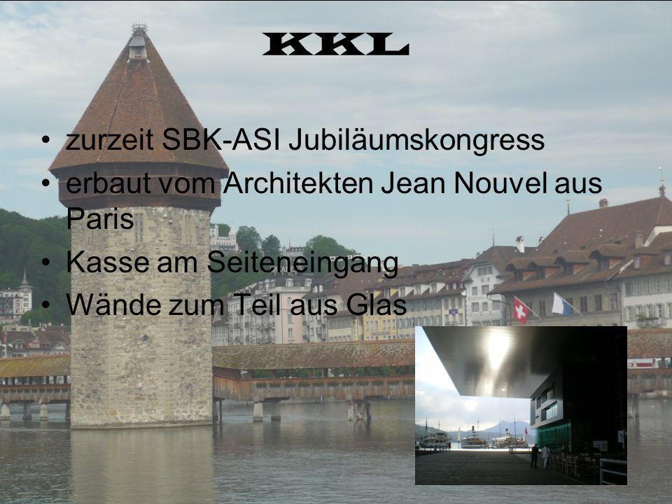 KKL zurzeit SBK-ASI Jubiläumskongress