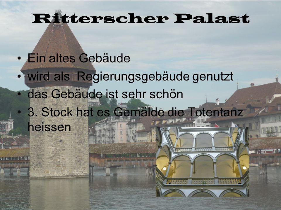 Ritterscher Palast Ein altes Gebäude