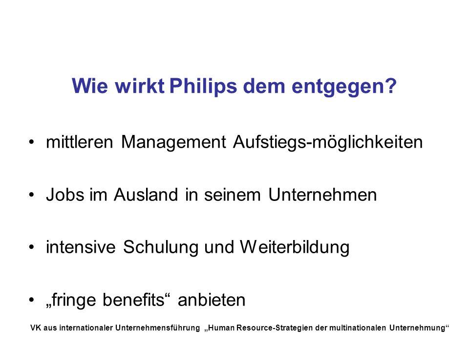 Wie wirkt Philips dem entgegen
