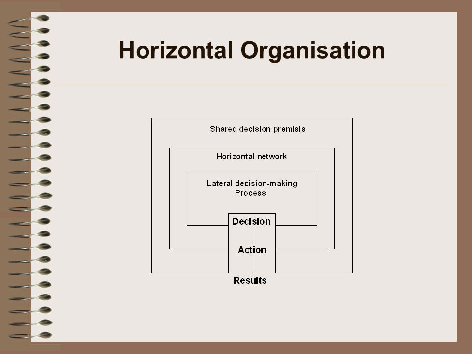 Horizontal Organisation