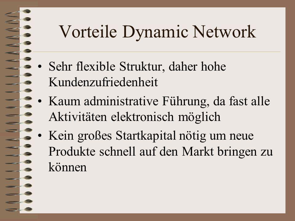 Vorteile Dynamic Network
