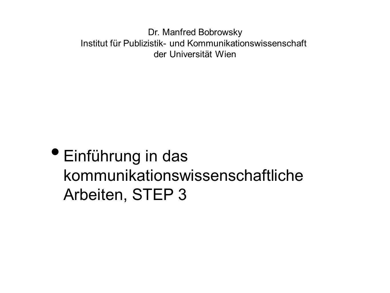 Institut für Publizistik- und Kommunikationswissenschaft