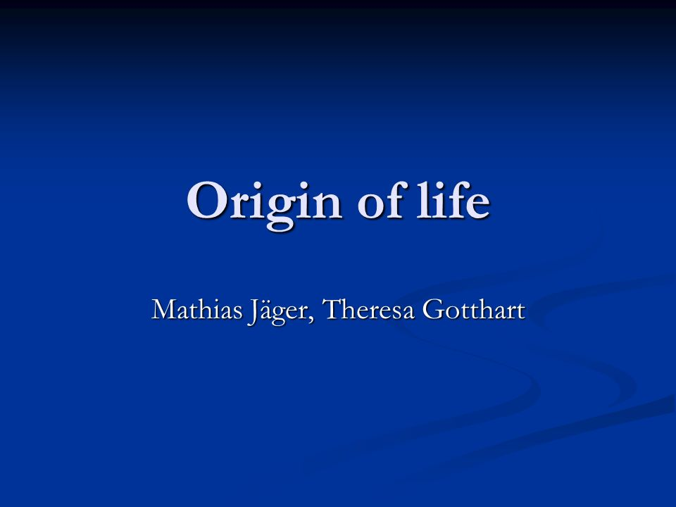 Mathias Jäger, Theresa Gotthart