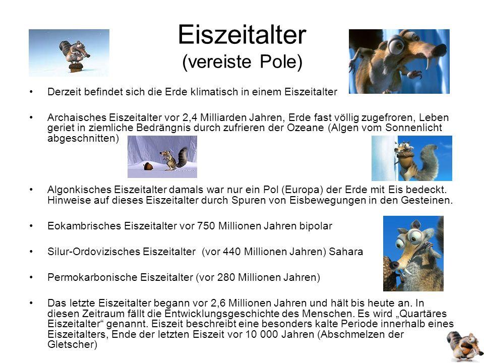 Eiszeitalter (vereiste Pole)