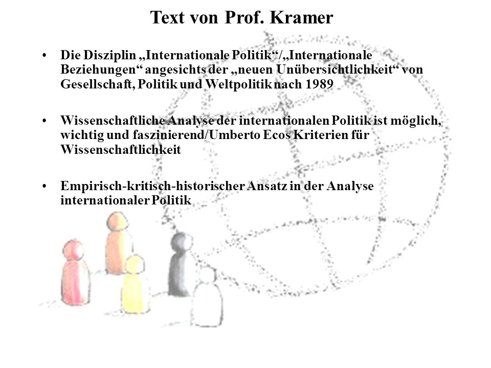 Text von Prof. Kramer