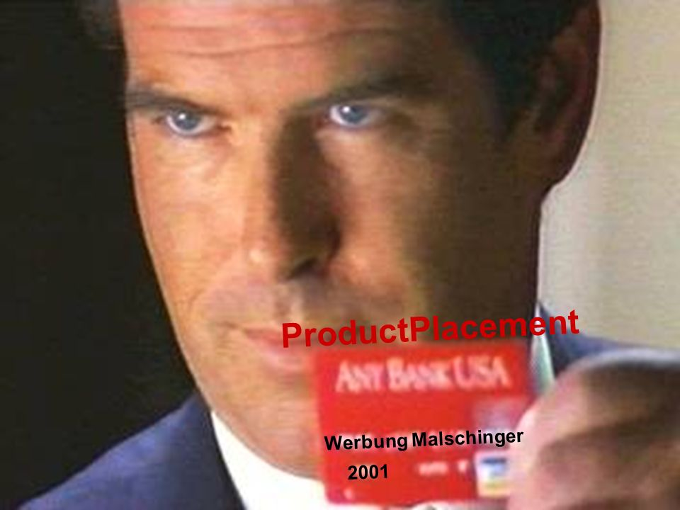 ProductPlacement Werbung Malschinger 2001