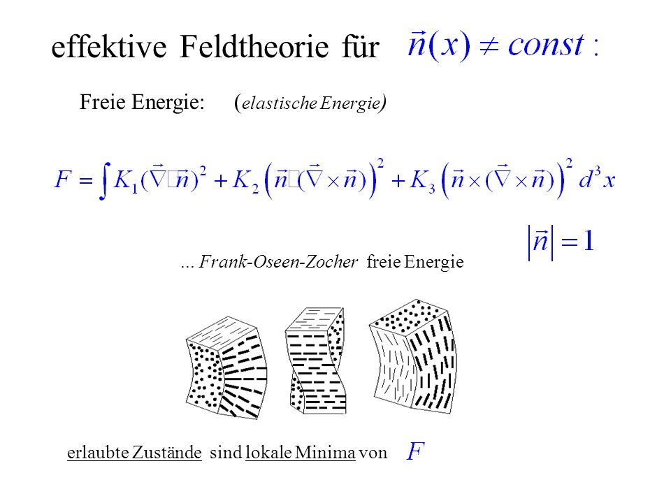 effektive Feldtheorie für