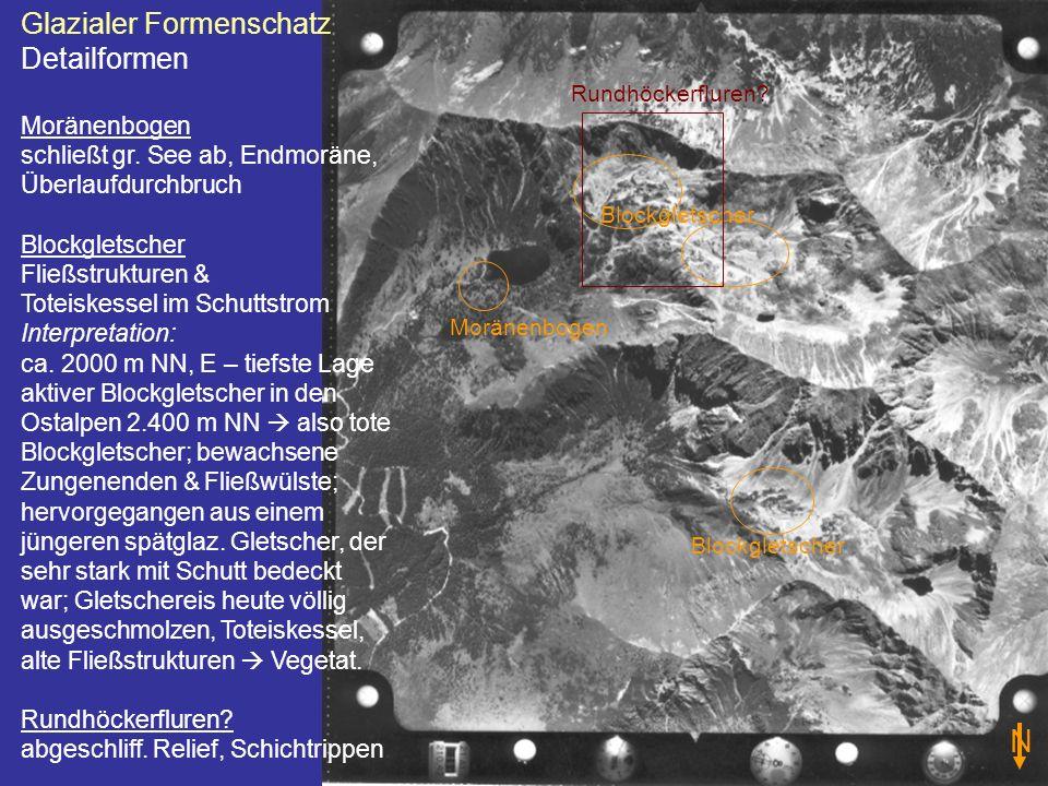 N Glazialer Formenschatz Detailformen Moränenbogen