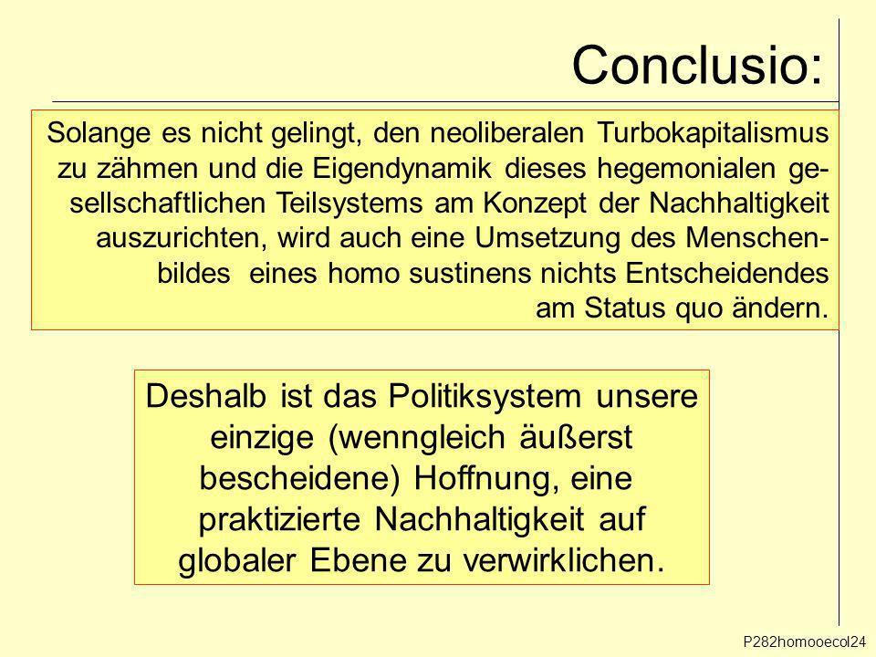 Conclusio: Deshalb ist das Politiksystem unsere
