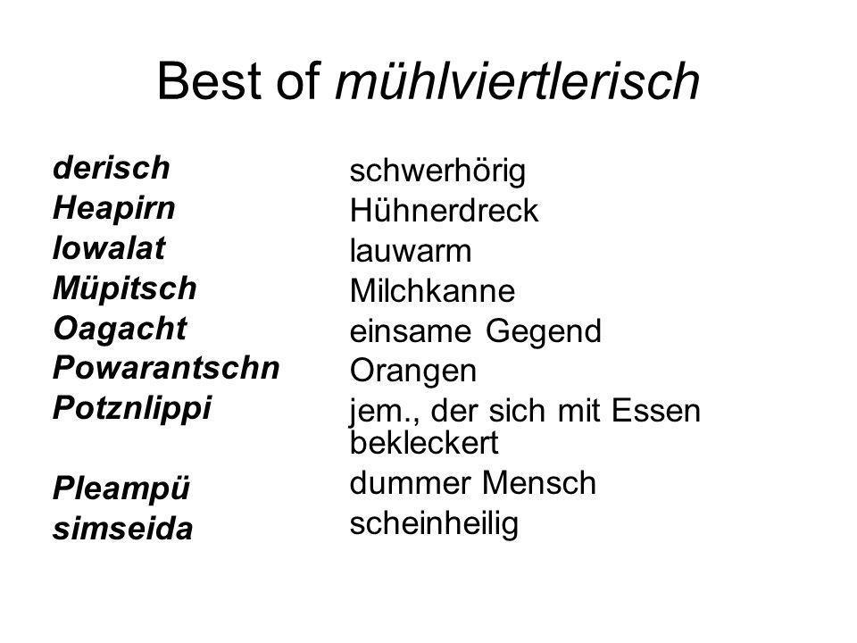 Best of mühlviertlerisch