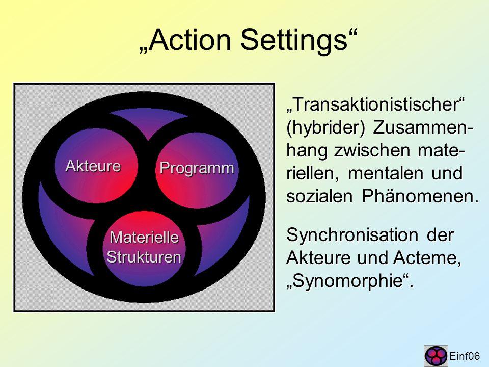 """""""Action Settings """"Transaktionistischer (hybrider) Zusammen-"""