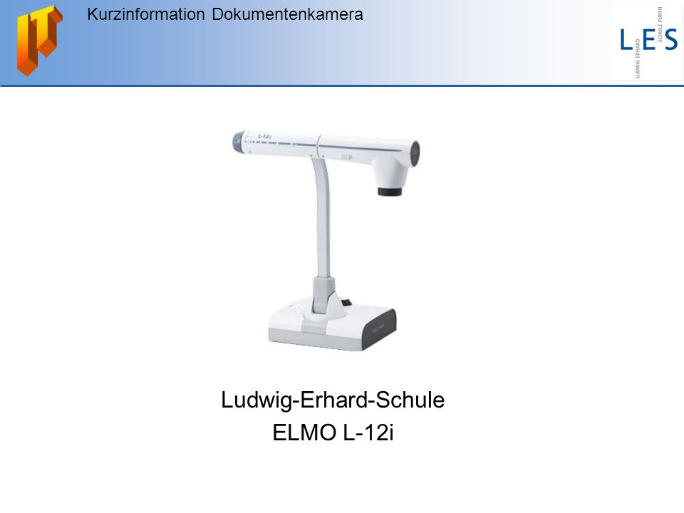 Ludwig-Erhard-Schule ELMO L-12i