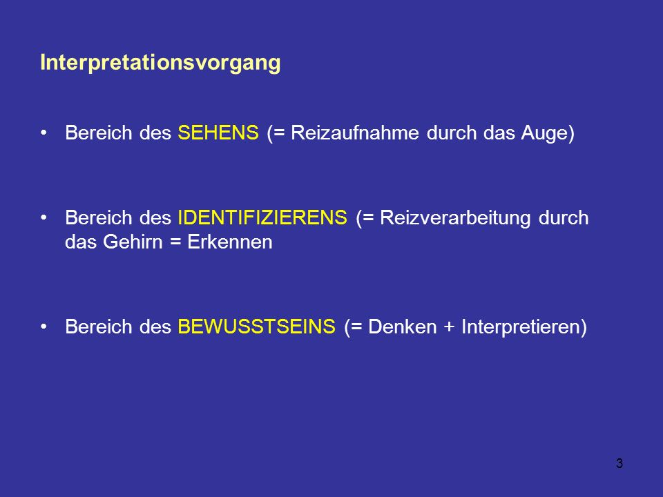 Interpretationsvorgang