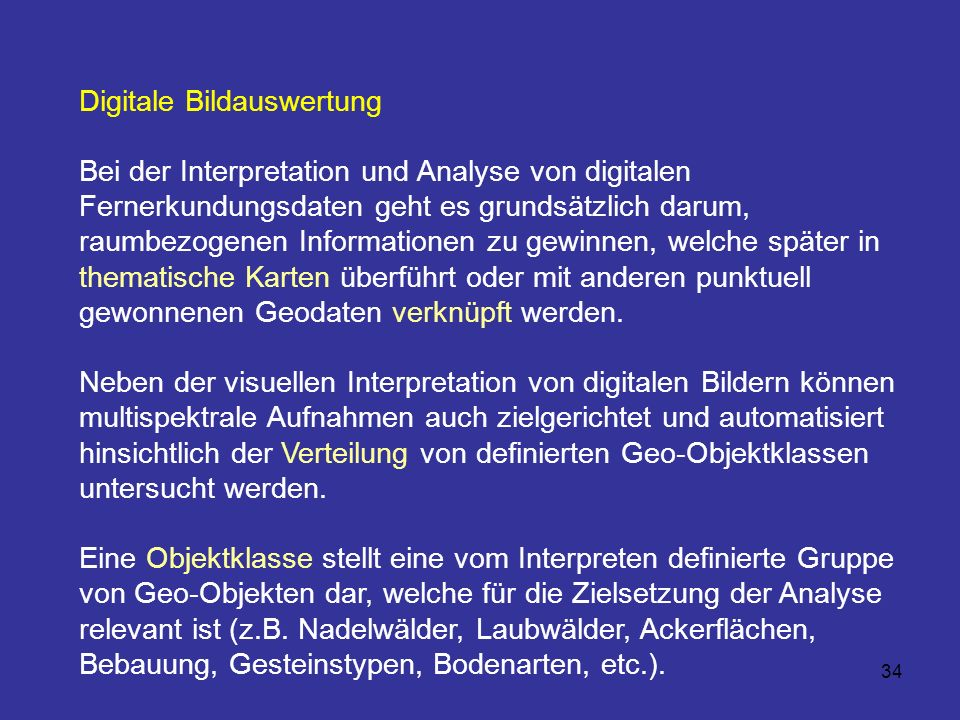 Digitale Bildauswertung