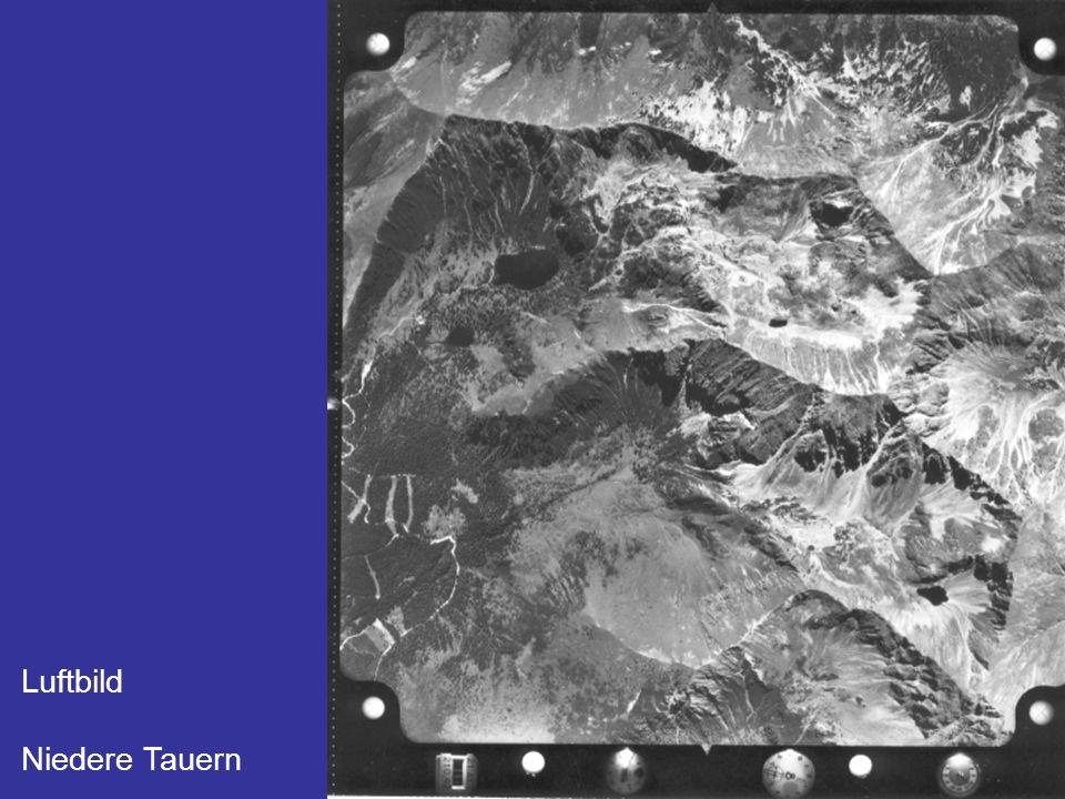 Luftbild Niedere Tauern