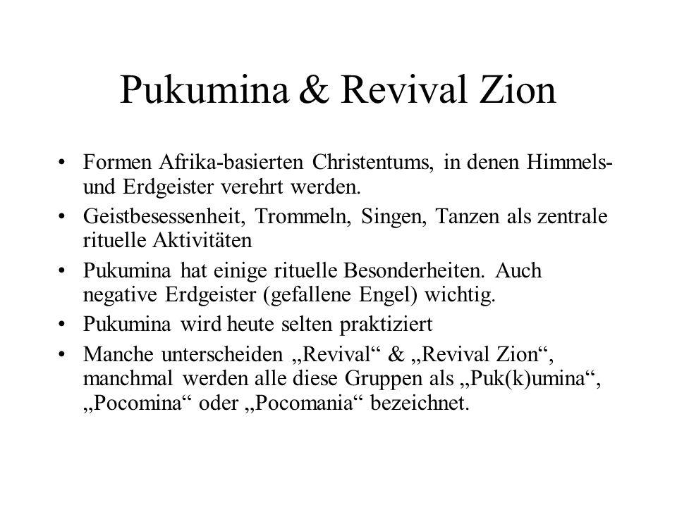Pukumina & Revival Zion