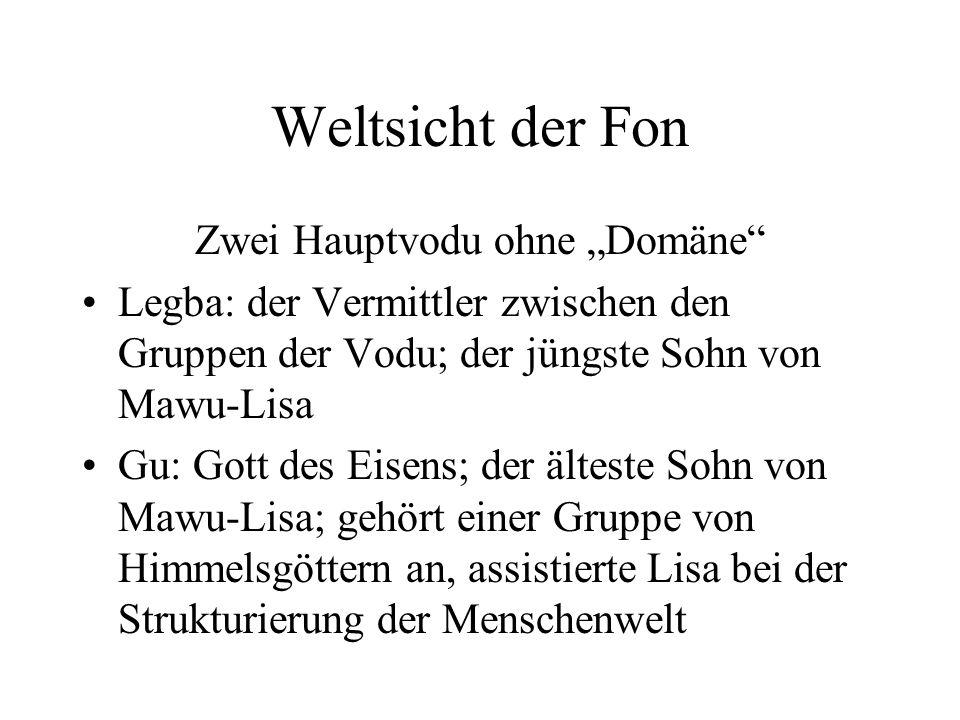 """Zwei Hauptvodu ohne """"Domäne"""