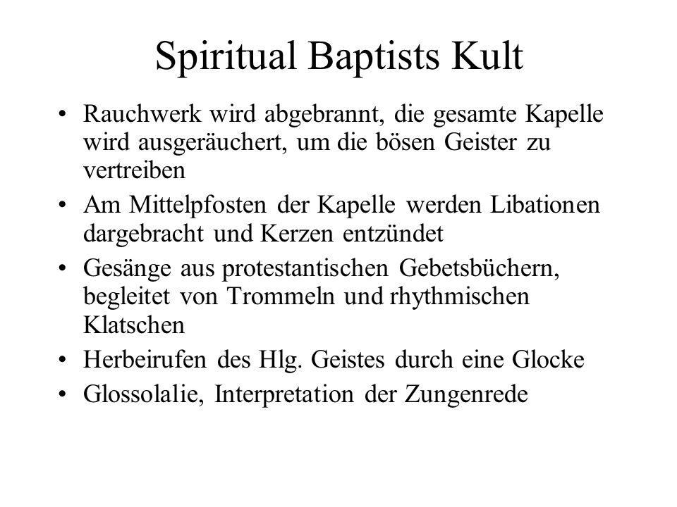 Spiritual Baptists Kult