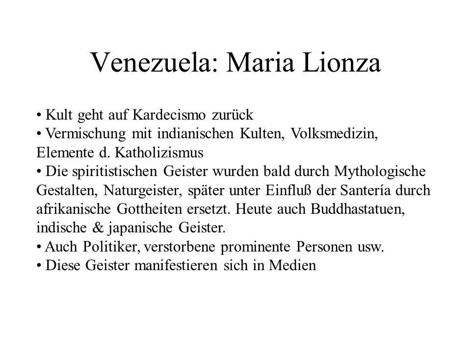 Venezuela: Maria Lionza