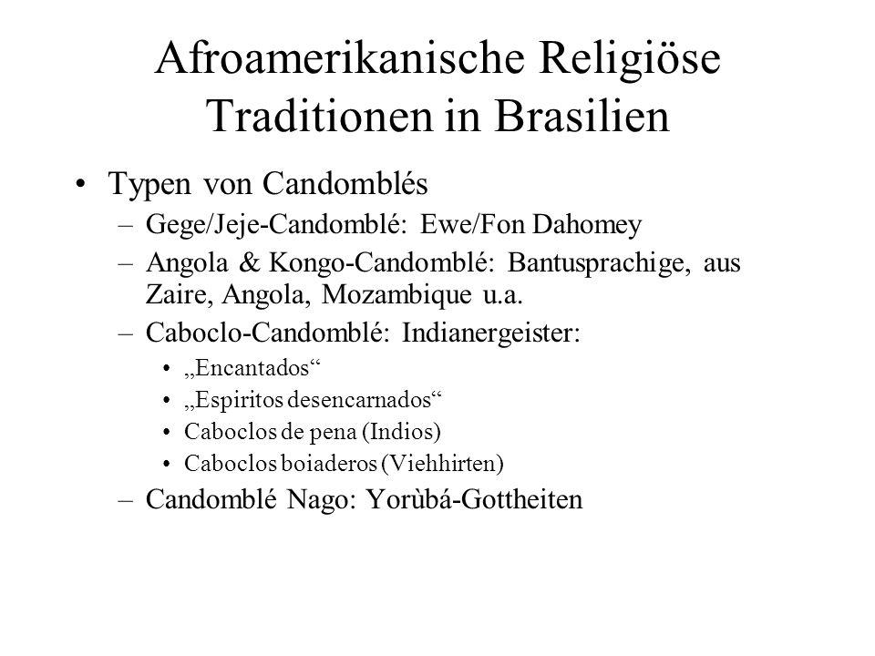 Afroamerikanische Religiöse Traditionen in Brasilien