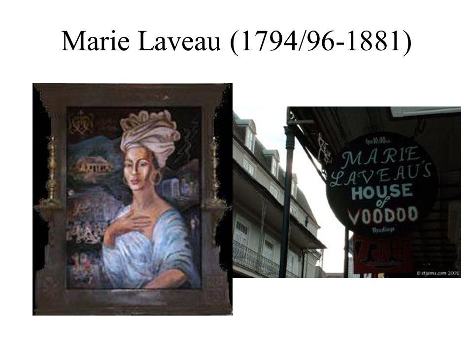 Marie Laveau (1794/96-1881)