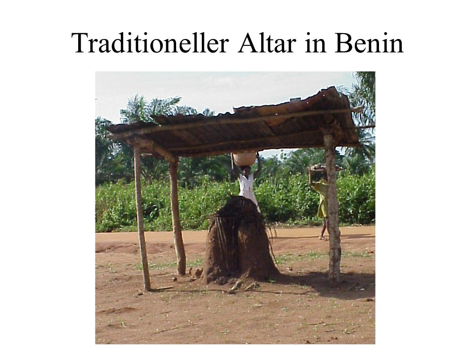 Traditioneller Altar in Benin