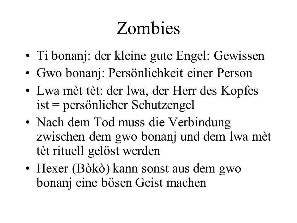 Zombies Ti bonanj: der kleine gute Engel: Gewissen