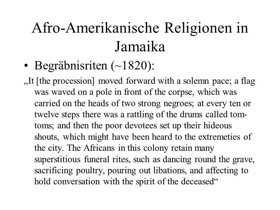 Afro-Amerikanische Religionen in Jamaika
