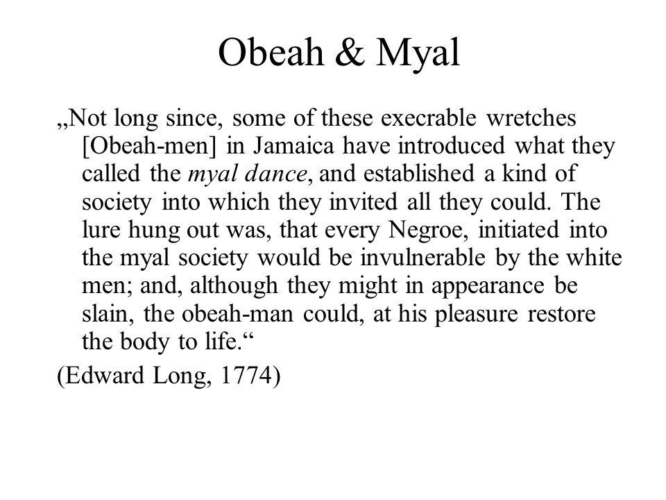 Obeah & Myal