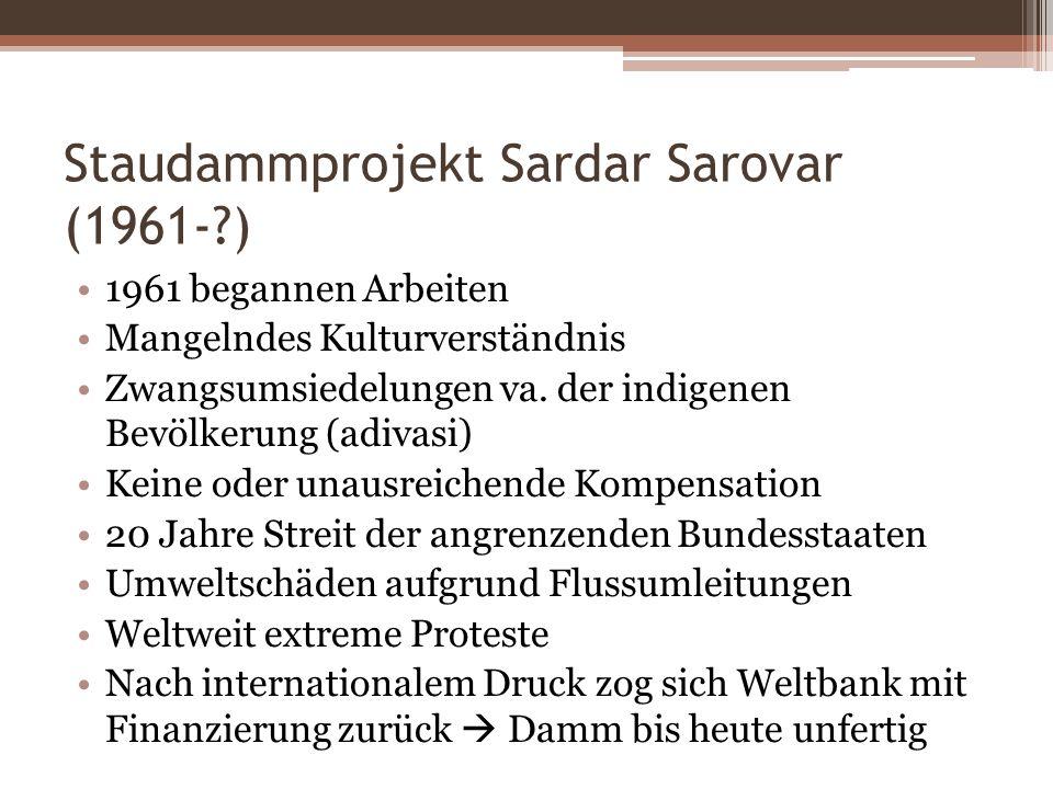 Staudammprojekt Sardar Sarovar (1961- )