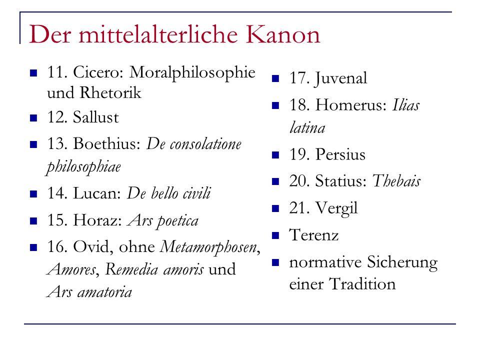 Der mittelalterliche Kanon