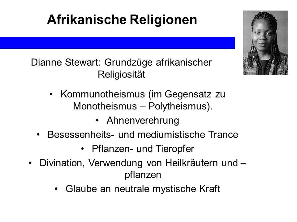 Afrikanische Religionen