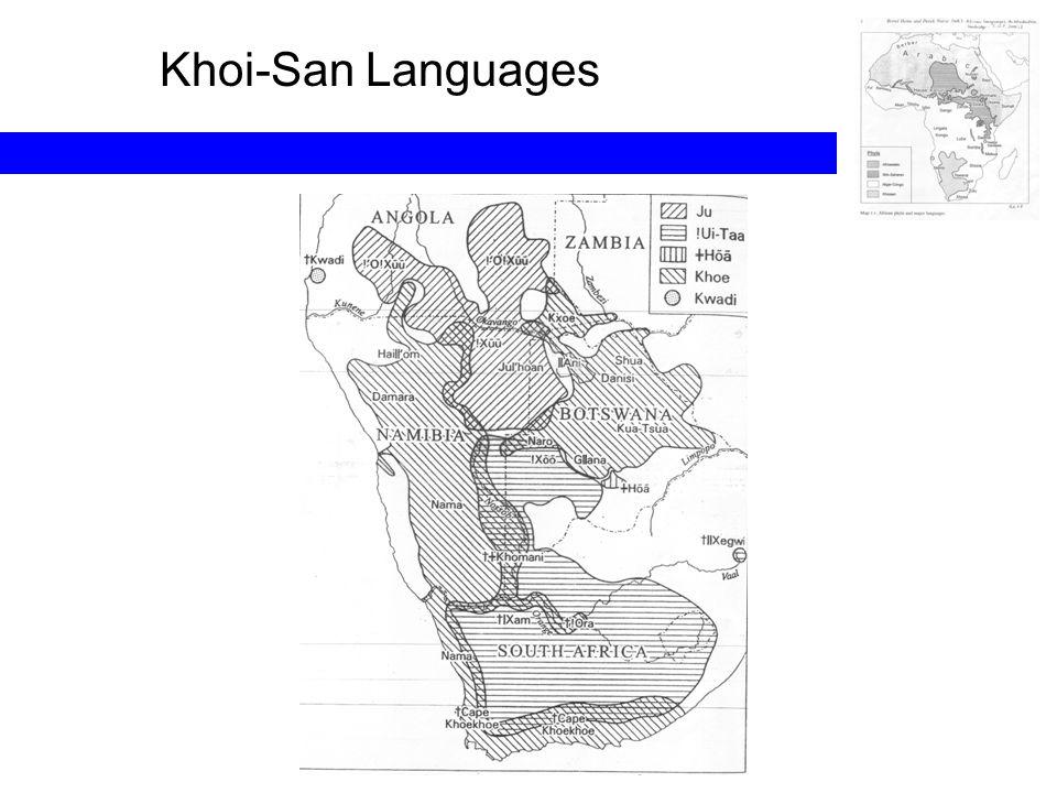 Khoi-San Languages