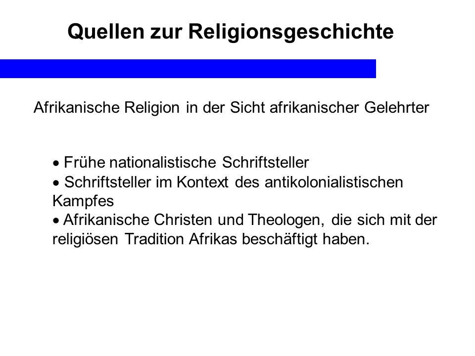 Quellen zur Religionsgeschichte