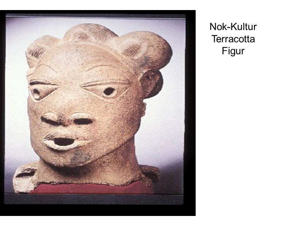 Nok-Kultur Terracotta Figur