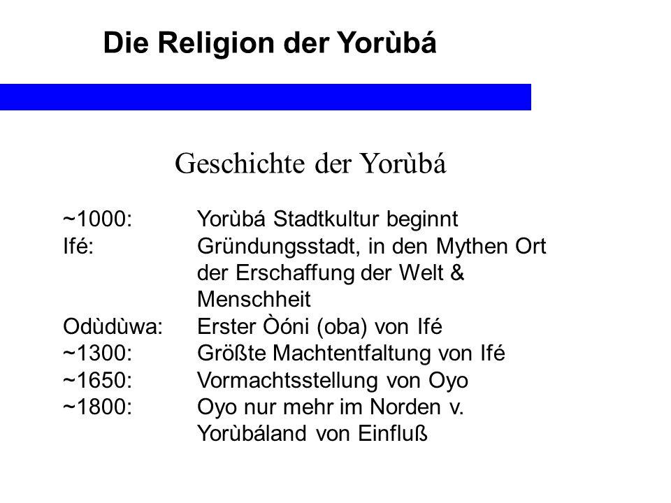 Die Religion der Yorùbá