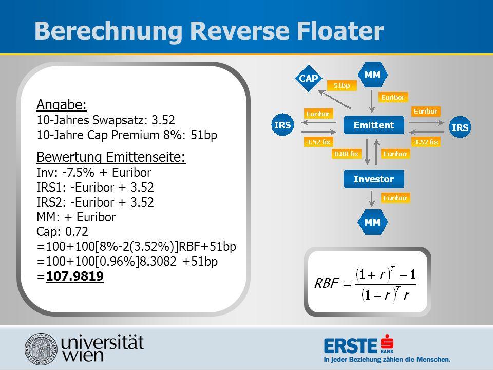 Berechnung Reverse Floater