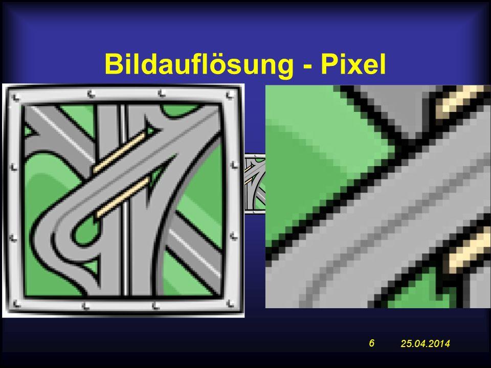 Bildauflösung - Pixel 28.03.2017