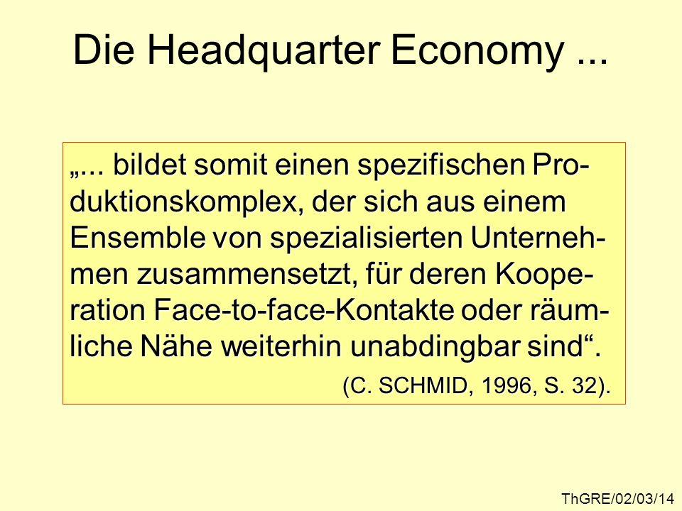 Die Headquarter Economy ...