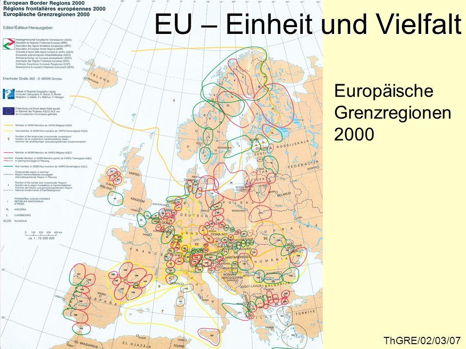EU – Einheit und Vielfalt