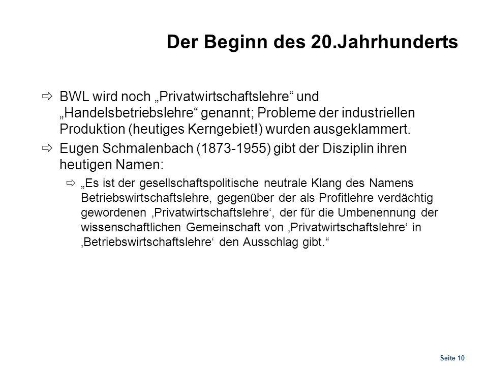 Schmalenbachs Ansatz Zwar hinterlässt Schmalenbach kein systematisches Werk; er geht aber von zwei Leitideen aus: