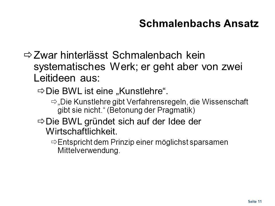 Wilhelm Rieger (1878-1971) Autor der ersten allgemeinen Einführung in die (damals noch) Privatwirtschaftslehre (1928)
