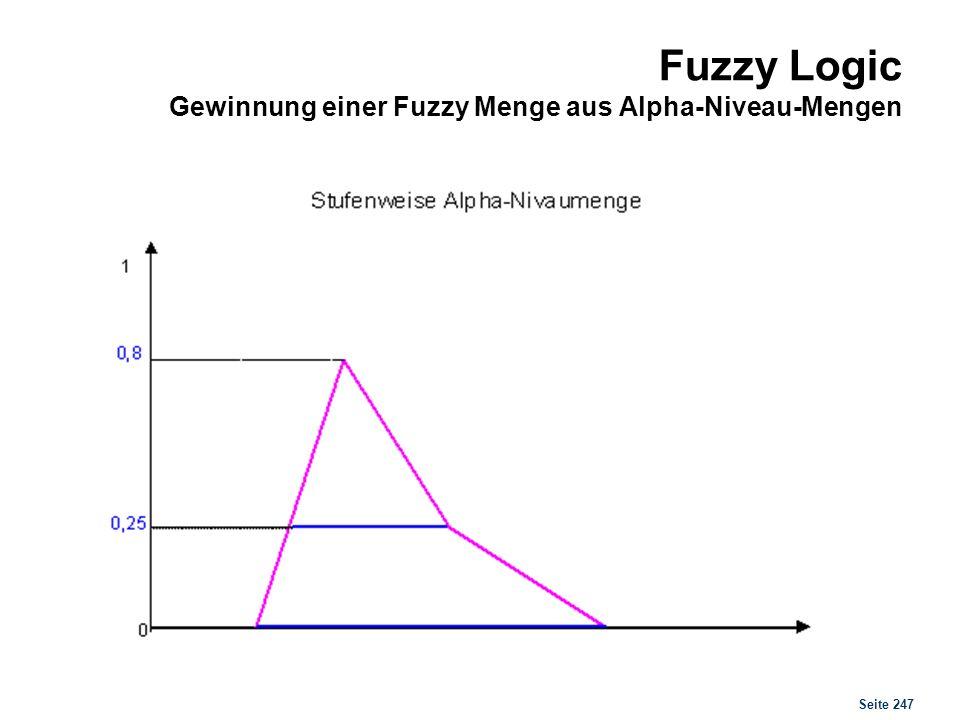 Fuzzy Logic Trianguläre Fuzzy-Zahl