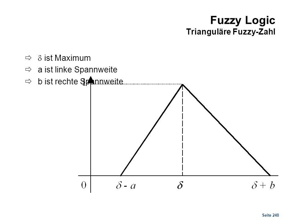 Fuzzy Logic Trapezoide Fuzzy-Zahl