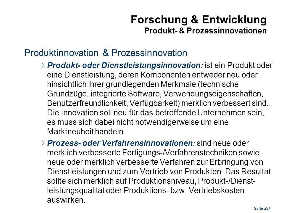 Innovationen Zusammenhänge