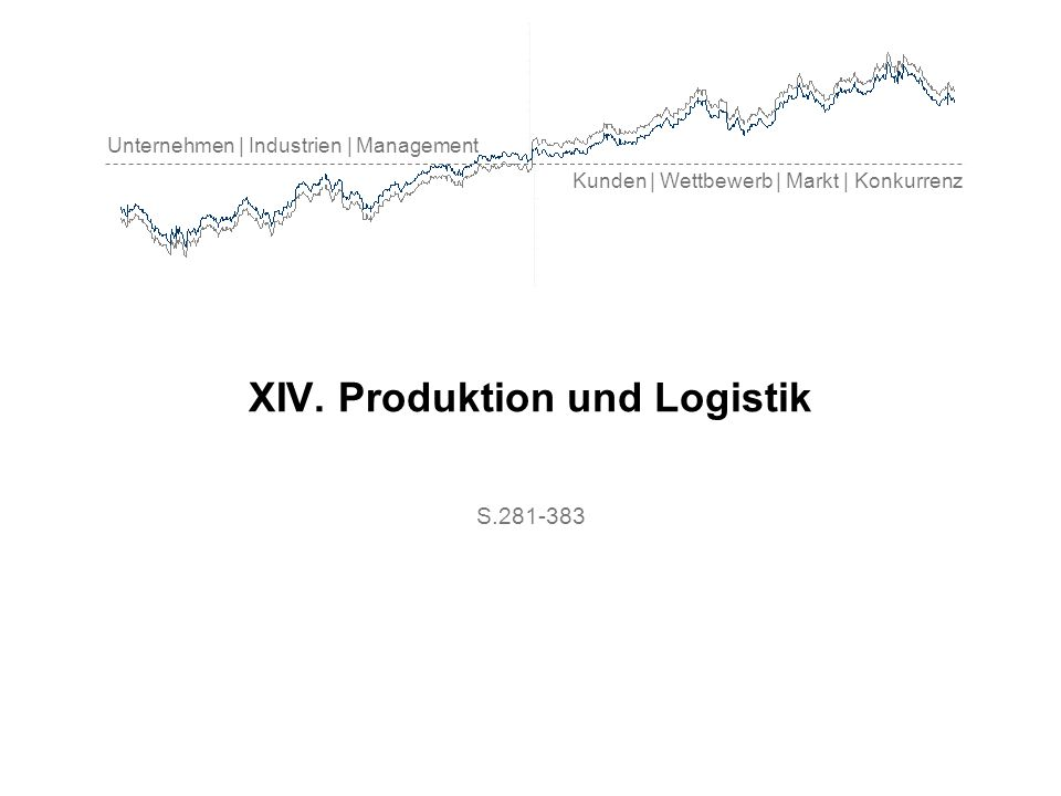 Produktion & Logistik Umsatzentwicklung im produzierenden Bereich