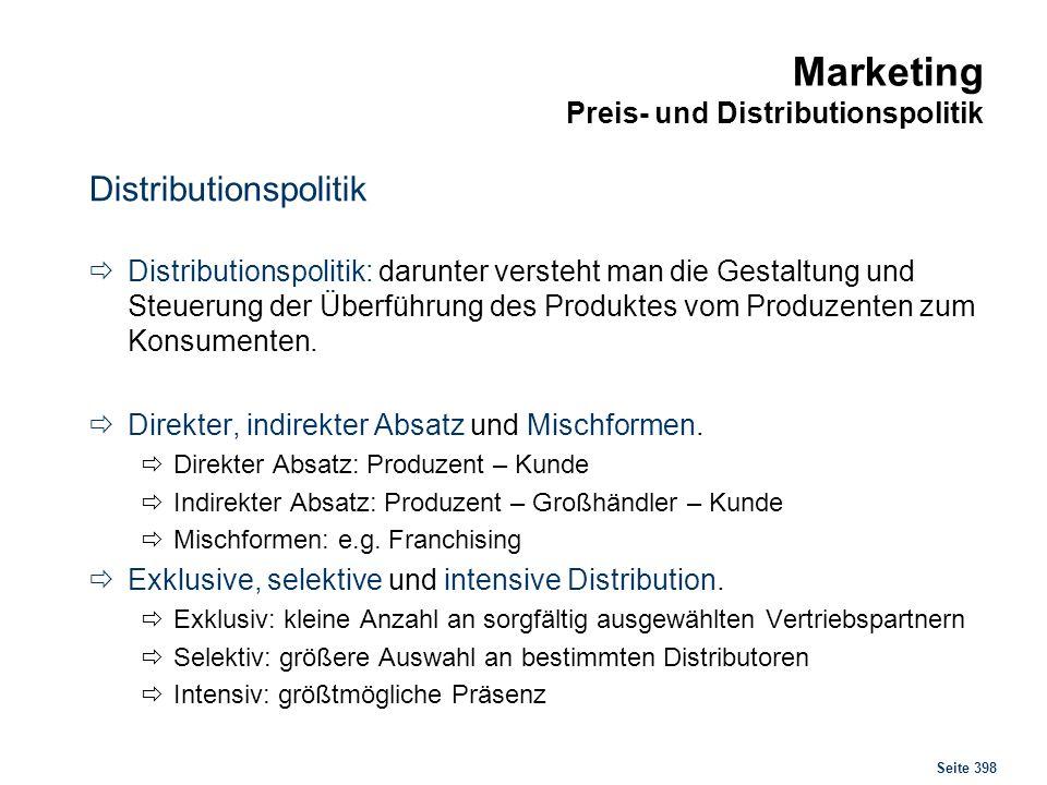 Marketing Kennzahlen Angebotserfolg Auftragsentwicklung