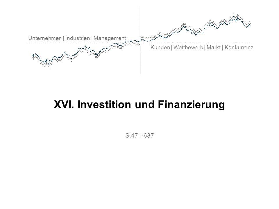 Investition und Finanzierung Investition